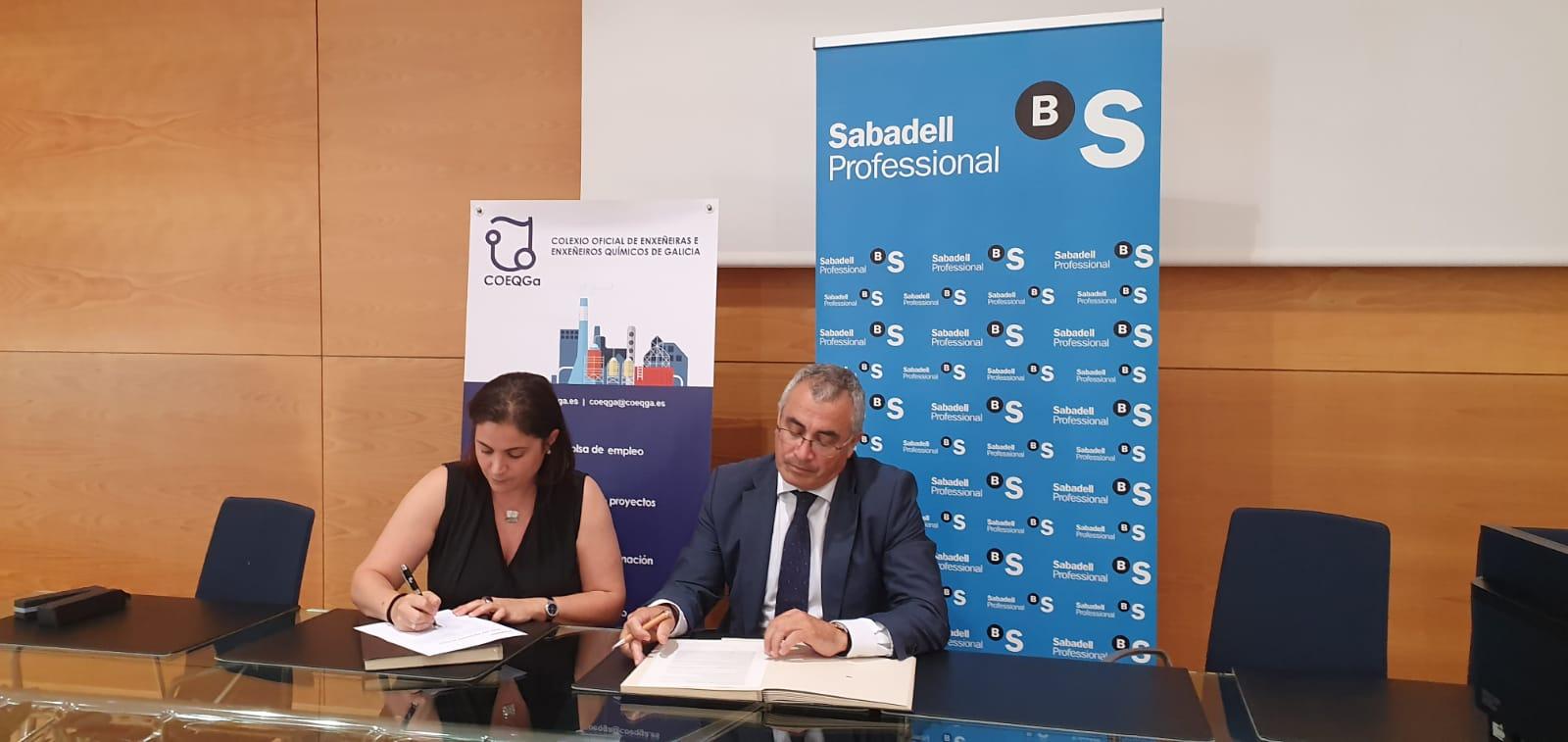 Novo convenio co Banco Sabadell Gallego