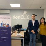 El COEQGa ha firmado un acuerdo de colaboración con la empresa carballesa donCLIC